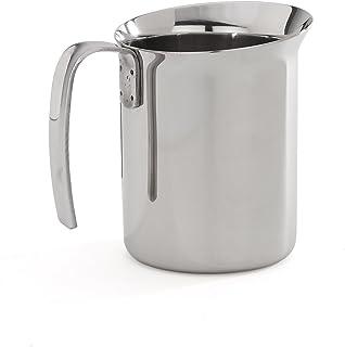 """Bialetti """"Bricchi Milk Jug, Silver, 1 Litre"""