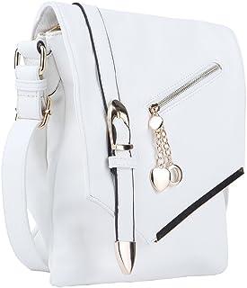 b32dd5c25fd5 MKF Collection Jasmine Woman Stylish Vintage Crossbody Bag Fashion Flap  over Handbag