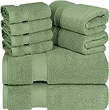 Utopia Towels - Premium Towel Set, Sage Green - 2 Bath...