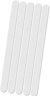 JieGuanG Pegatinas antideslizantes 10 unidades color blanco
