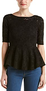 Free People Womens Peplum Pullover Blouse