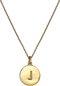 Kate Spade Pendants J Pendant Necklace