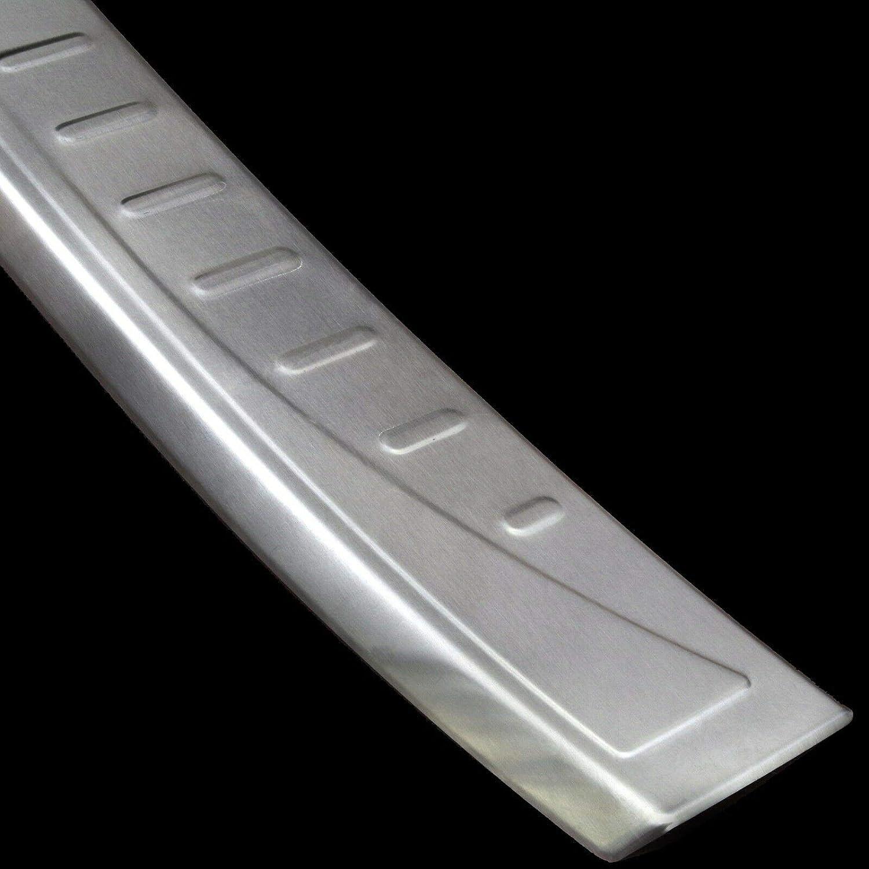 Recambo CT-LKS-2090 Protector de Borde de Carga de Acero Inoxidable Mate para Volvo XC60, 2013 – 2017 Facelift | + Cantos, Large