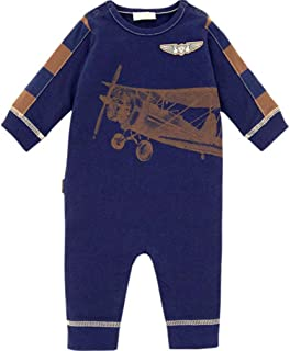 9 Months Baby Boy le top Track Excavator Navy Coverall