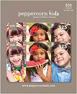Peppercorn Kids Gift Card, Multipack of 2