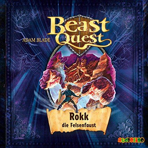 Rokk, die Felsenfaust     Beast Quest 27              Autor:                                                                                                                                 Adam Blade                               Sprecher:                                                                                                                                 Jona Mues                      Spieldauer: 1 Std. und 16 Min.     2 Bewertungen     Gesamt 5,0