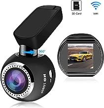 WiFi Dash Camera, SIV Vehicle Dash Cam Full HD 1080P Car Camera Recorder, Car Mini Dash Cam with 1.54
