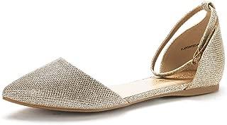 Women's Sole-Shine Rhinestone Ballet Flats Shoes