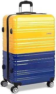 "Wanderlite 28"" Hard Suitcase Large Lightweight Roller Luggage Case"
