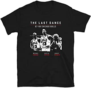 The Last Dance Chi-CAGO Bu-lls 23 mi-Chael JOR-dan 1984 1998 Thank You Shirt