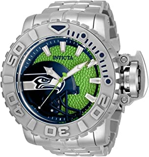 Invicta NFL Seattle Seahawks Automatic Green Dial Men's Watch 33040