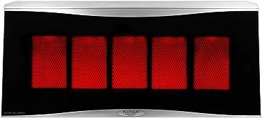 Bromic Heating BH0110003-1 Smart-Heat Platinum 500 Radiant Infrared Patio Heater, Natural Gas, 39800 BTU