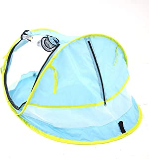 BAGGRA Baby Beach Tent Portable Pop Up Tent UPF 50+ Sun Shelters Baby Shade with Mosquito Net Sun Shade Beach Umbrella for...