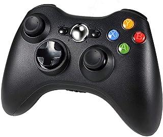 Diswoe Xbox 360 Controlador de Gamepad, Xbox 360 Inalámbrico Gamepad Controlador Joypad con Vibración Doble Ergonomía para Consola Microsoft Xbox 360, PC ( Windows 10/8.1/8/7/XP )