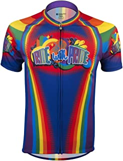 Ride with Pride Cycling Jersey - Made in The USA