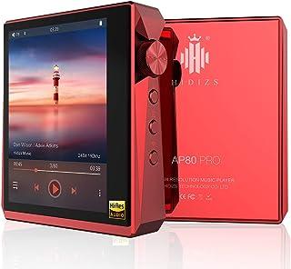 HIDIZS AP80 PRO Hi-Fi Bluetooth MP3 Player, Portable Hi-Res Digital Music Player with LDAC/aptX/DSD/FM Radio, Lossless Mus...