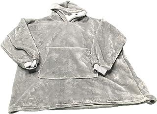 Blanket Hoodies,Hooded Robe,Bathrobe,Sweatshirt,Blanket,Pullover,Super Soft Warm Cozy Giant Hoody Large Front Pocket One S...