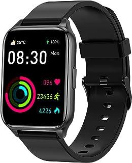 Tranya SmartWatch, 1.69'' Tela Full Touch Colorida, 7 a 10 dias de duração da bateria, IP68 à prova d'água, rastreador de ...