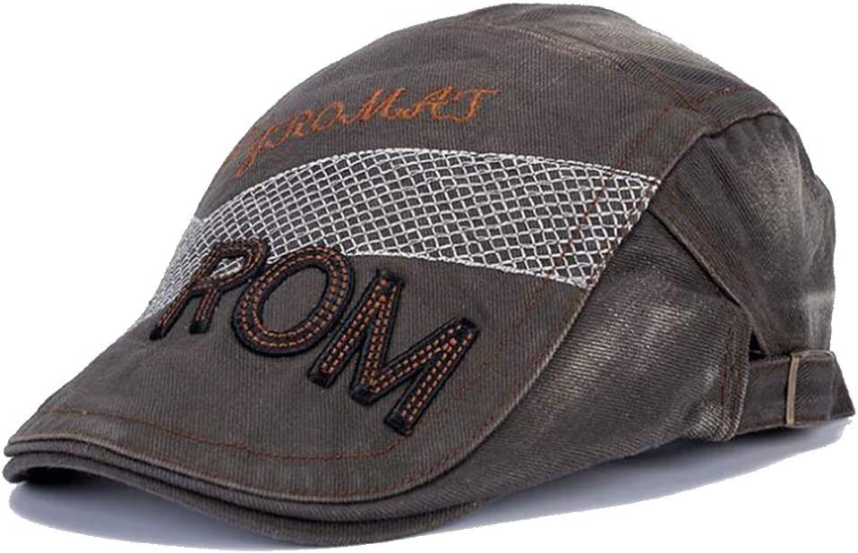Hat Casual Beret Three-Dimensional Embroidery Driving Cap Men's and Women's New Cap Accessories (Color : 04, Size : 55-60cm)