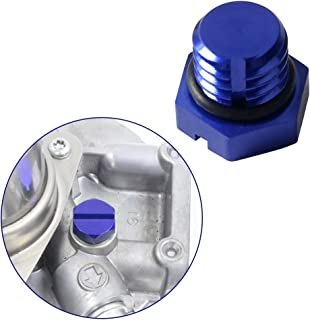 Perfect Replacement Billet Air Fuel Filter Housing Aluminum Bleeder Screw for GM 2001-2017 (6.0 / 6.6L) Duramax Diesel LB7, LLY, LBZ, LMM , LML (Blue)