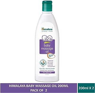 Himalaya Baby Massage Oil (200ml) (pack of 2)