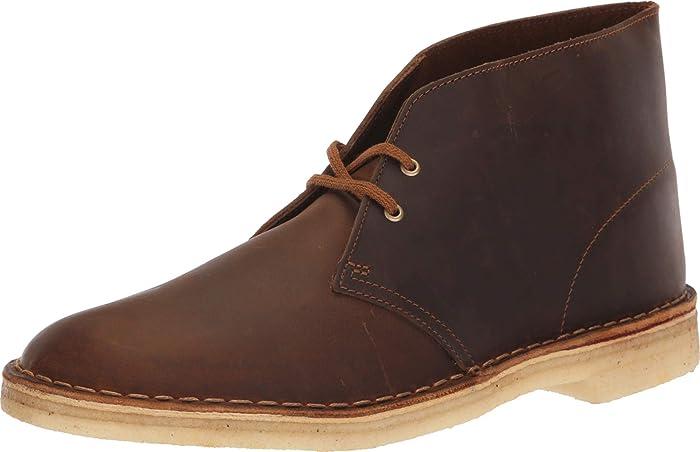 Clarks Men's Desert Chukka Boot, Navy Fa