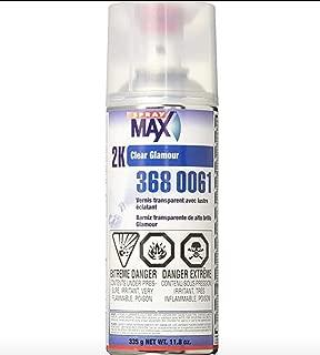 Spray max 1 CASE of (6) CANS USC SPRAYMAX 2K AEROSOL Clear Coat auto Paint Restoration car Paint Supplies