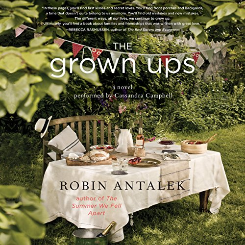 The Grown Ups audiobook cover art