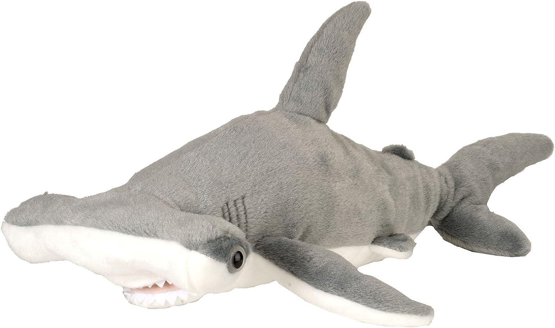 Wild Republic Cuddlekins Plush Shark Hammerhead Adult 15