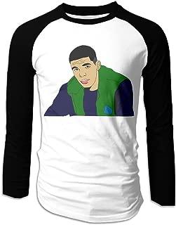 Gddo Bro Black Moisture Wicking Funny Men Drake Cartoon Bseball Jersey Fashion