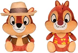 """Funko Plushies Disney Afternoon 8"""" Collectible Plush Chip & Dale (Set of 2)"""