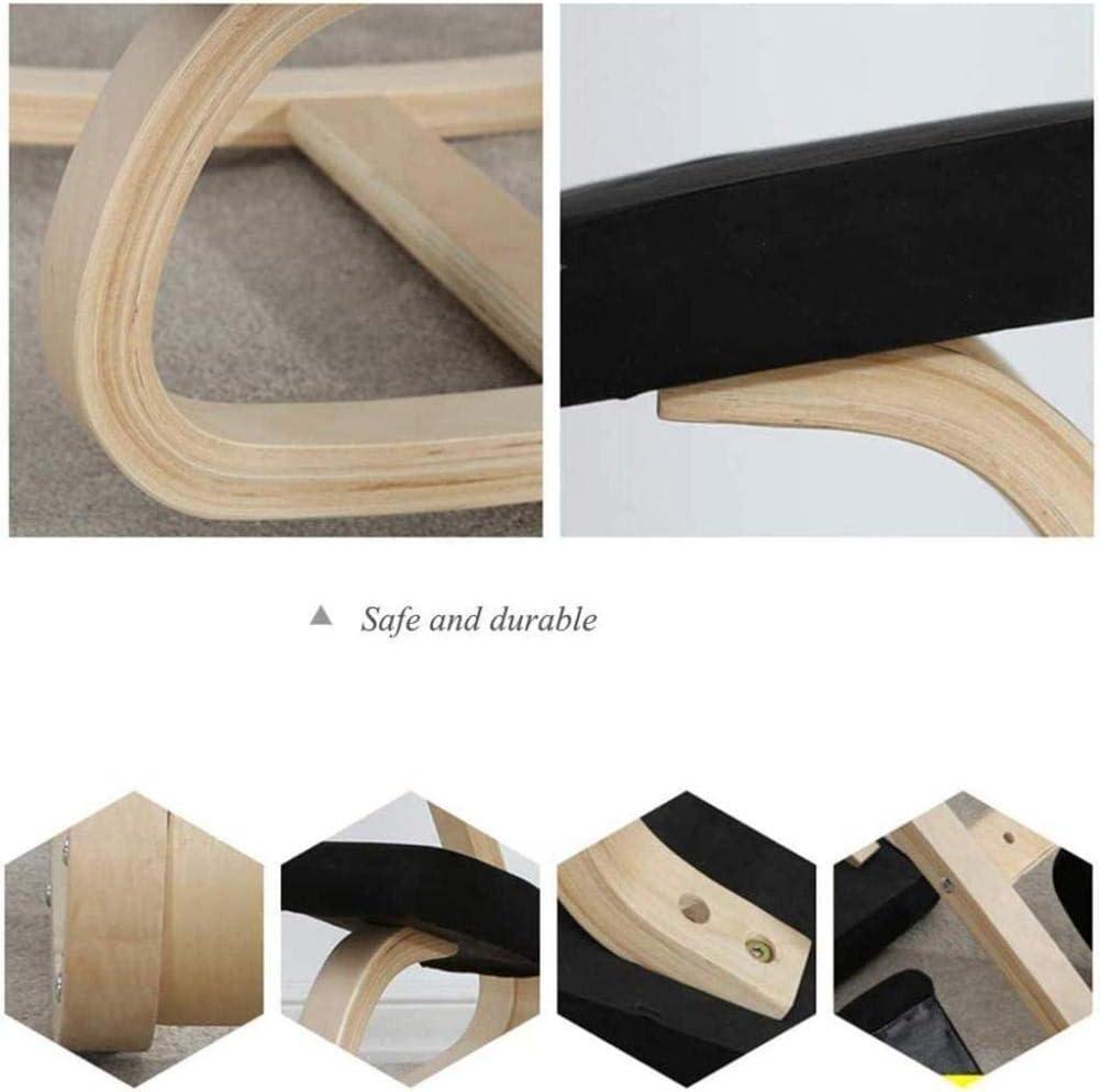 Fauteuil Genoux Tabouret Soulager Retour Neck Pain améliorer la posture des coussins épais Bureau ergonomique Rocking Chaise tabouret (Color : Gray) Blue