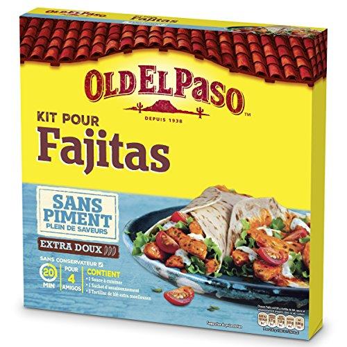 Old El Paso - Kit pour Fajita sans Piment 478 g