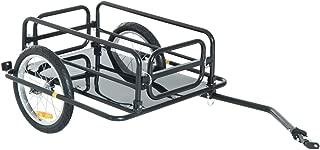Wanderer Bicycle Bike Cargo Trailer Utility Luggage Cart Carrier Black