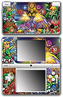 Legend of Zelda Link Wind Waker Stained Glass Video Game Vinyl Decal Skin Sticker Cover for Nintendo DSi System