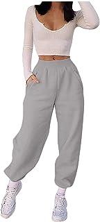 Pantalon de Chándal para Mujer Largos Casual Pantalones │ Las Mujeres Que Imprimen Los Pantalones del SuéTer del Tiempo Li...
