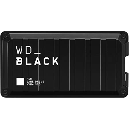WD ポータブルSSD 2TB WD_Black P50 最大転送2000MB/秒 外付け / 5年保証 【PS4 / Xbox Oneメーカー動作確認済】WDBA3S0020BBK-WESN
