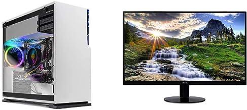 $1092 » Skytech Shiva Gaming PC Desktop & Acer SB220Q bi 21.5 Inches Full HD (1920 x 1080) IPS Ultra-Thin Zero Frame Monitor (HDMI...