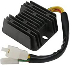 Mazuer R2043.4 Regulador rectificador de Voltaje para Hyosung GT650R GT650 Comet GV650 ST7 GT650S Motocicleta Accesorios (Color: Negro)