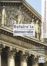 Rapport du groupe de travail sur l'avenir des institutions
