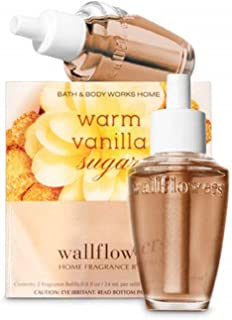 Warm Vanilla Sugar Wallflowers Fragrance Bulbs 2 pk – .8 oz each- by The White Barn Candle Co.