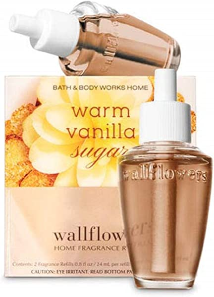 Warm Vanilla Sugar Wallflowers Fragrance Bulbs 2 Pk 8 Oz Each By The White Barn Candle Co