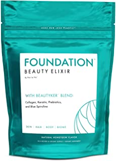 Sponsored Ad - Hair La Vie Foundation Beauty Elixir with Collagen, Keratin and Prebiotics for a Healthy Gut, Clear Skin & ...