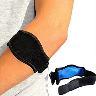 VIOST Adjustable Arm Brace Support Elbow Band Wrap Bandage Strap Joint Pain Relief Elbow Protector Forearm Guard for Tennis Golf