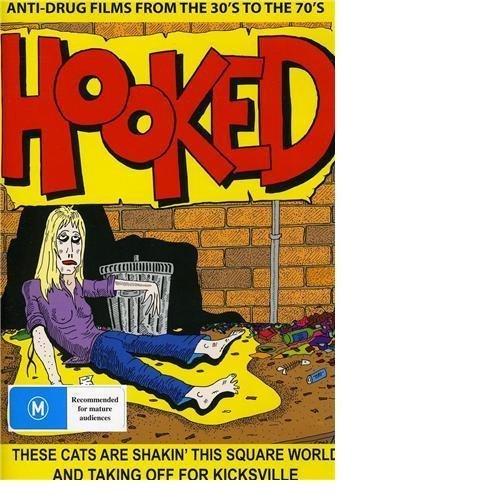Hooked - 10 Film Collection (Vol. 1) - 3-DVD Set ( Cocaine Fiends / Opium Fire / Drug Addiction / The Terrible Truth / Marihuana / Narcotics [ Origen Australiano, Ningun Idioma Espanol ]