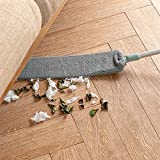 Dust Brush Long Handle Mop Bedside Sweep Flexible 40 to 54 inches Artifact Household Bed Bottom Gap Clean Fur Hair Sweeping Dusty Magic Microfibre Feather Duster Reusable