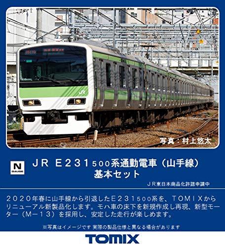 E231系 500番台 山手線 基本6両セット 品番:98716