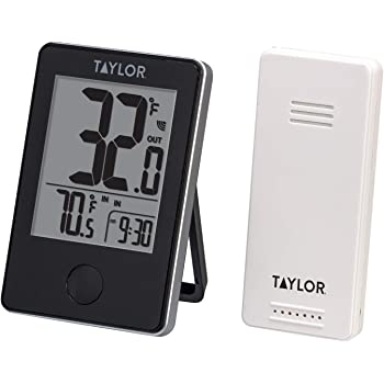 Taylor Precision Products Wireless Digital Indoor/Outdoor Thermometer