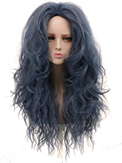 Yuehong Long Wavy Wig Synthetic Anime Cosplay Wig Heat Resistant Wig Hair Wigs