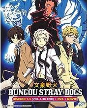 BUNGOU STRAY DOGS SEASON 1-3 + OVA + MOVIE Japanese Anime DVD (NTSC All Regions)